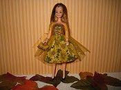 Sunflowers Dress with purse
