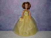 SUNNY DAY gown with purse