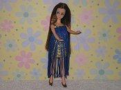 Dancing Mini Gold & Sapphire