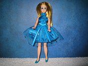 Turquoise Confetti mini
