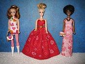 Valentine gowns & mini