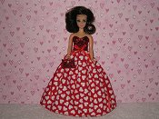 Valentine Gown #8 with purse