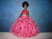 Pink & Silver ballgown (Dale)