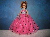 Pink & Silver ballgown (Daphne)