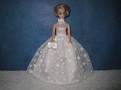 WINTER WHIMSY ballgown with purse