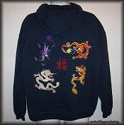 4 Chinese Dragons