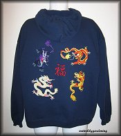4 Chinese Dragon & Good Fortune Example