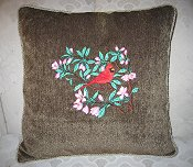 Cardinal Pillow Example