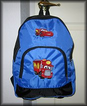 Backpack Blue Example