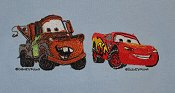 Cars --Lighting McQueen & Mater