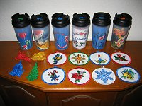 Sippy cups & Ornaments