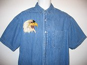 Eagle Head Shirt Example