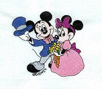 Mickey & Minnie Dancing