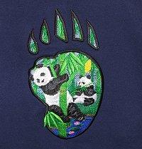 Panda footprint Scene