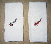 White Hand Towel Example