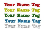 Name Tag Color