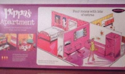 Pippa Dolls By Palitoy Archive Dolls Gt Pippa Gt Accessories Apartment With Walls