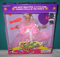 Super Model pink dress